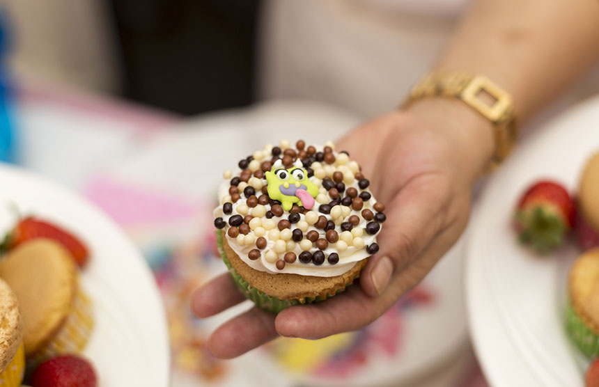 cupcake-making