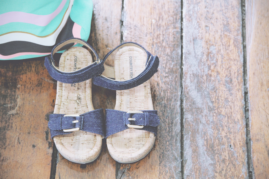country road spring 2015 kids sandals