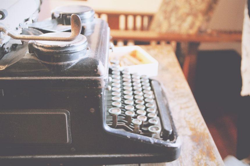 may gibbs typewriter