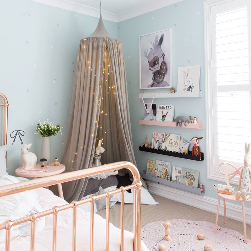 Tour Preschooler Georgies Room by Little Dwellings on childmagsblog.com