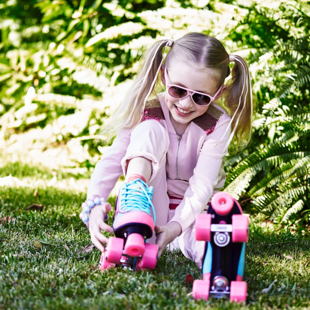 WIN 5 pairs of Kandy Roller Skates on childmagsblog.com