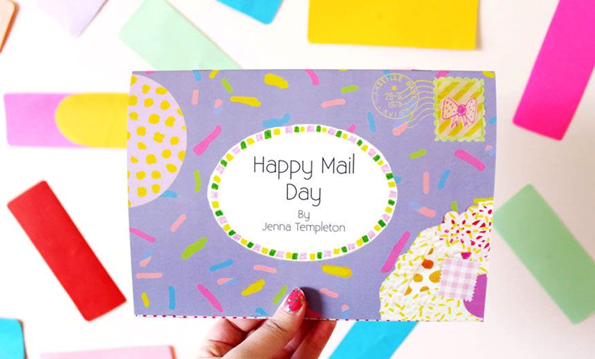 Happy Mail Day by Jenna Templeton on www.childmagsblog.com
