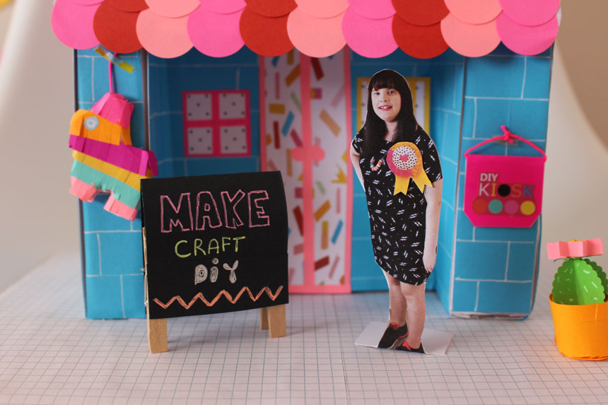 DIY Kiosk by Jenna Templeton