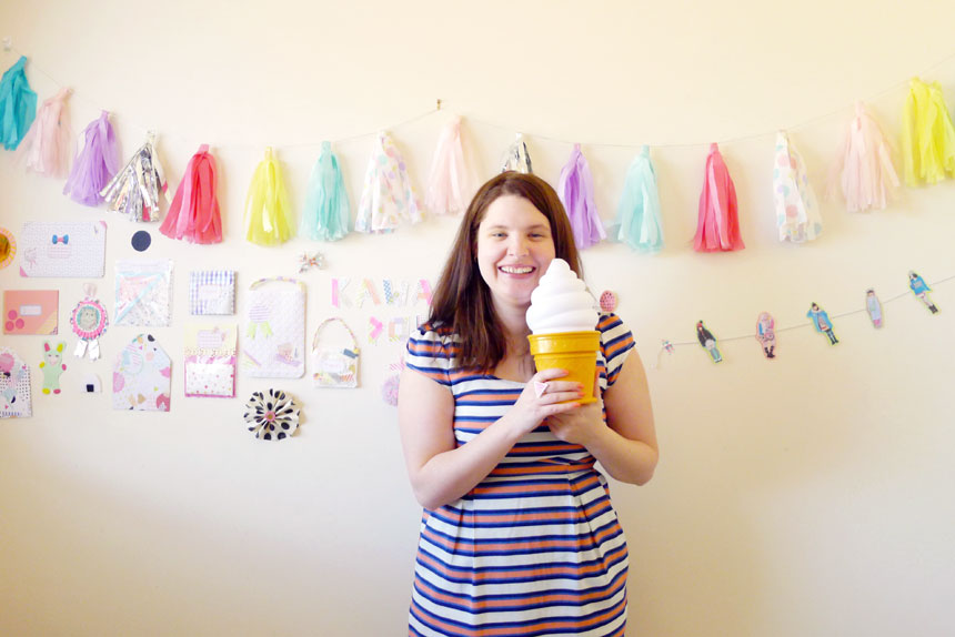Happy crafty times with Jenna Templeton on www.childmagsblog.com
