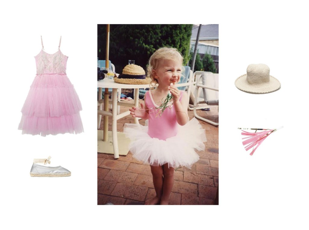 Check out Melissa's '90s Mini Ballerina Party on www.childmagsblog.com