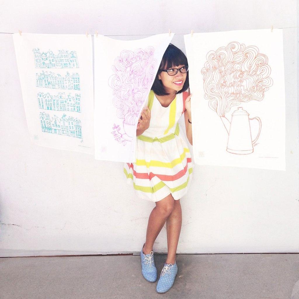 Meet illustrator May Leong on childmagsblog.com