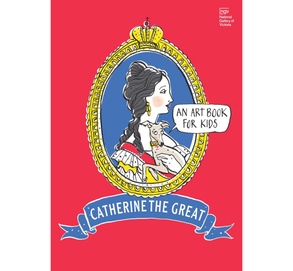 Catherine The Great An Art Book For KidsCatherine The Great An Art Book For Kids