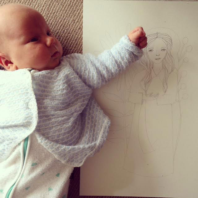 Meet Illustrator and Mum Jess Racklyeft