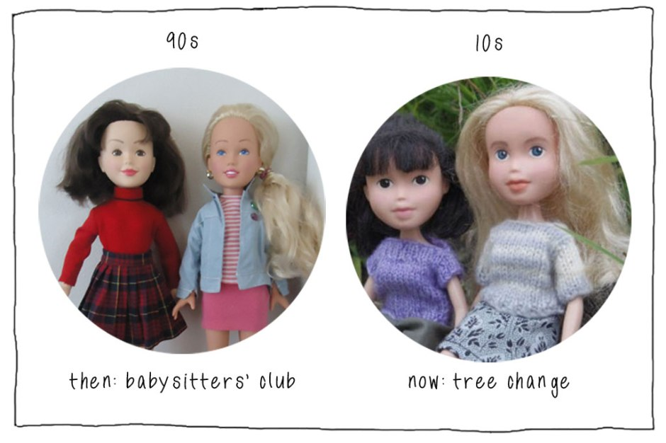 Babysitters Club and Tree Change Dolls on www.childmagsblog.com
