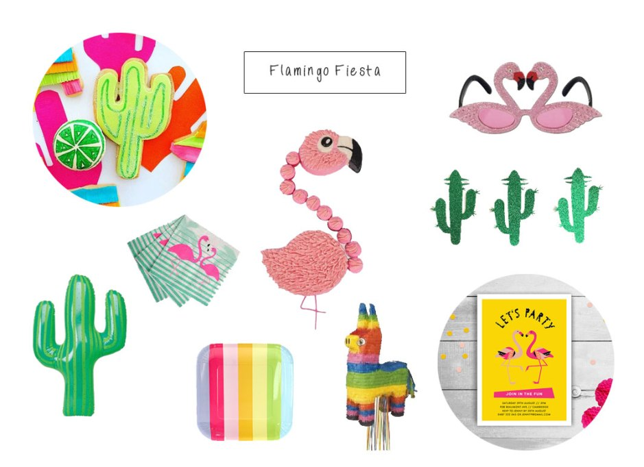 Flamingo fiesta party on child mags blog