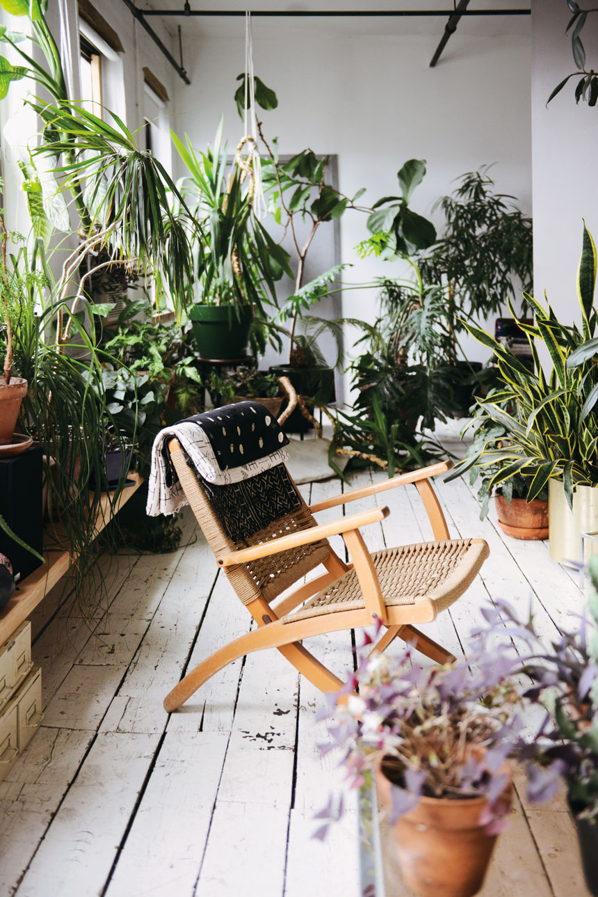 indoor green: living with plants on www.childmagsblog.com