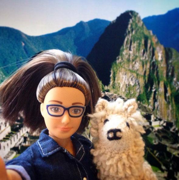 Lammily and llama on childmagsblog.com