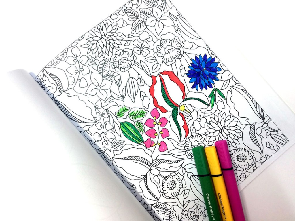 Win a copy of The Calm Colouring Book from QBD