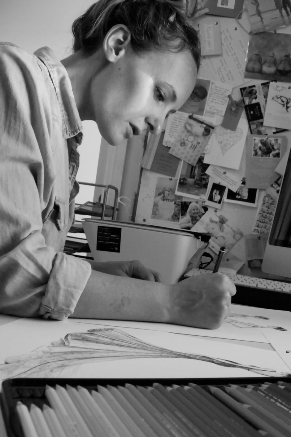 alexandra nea, illustrator on child mags blog