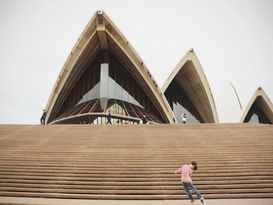 sydney opera house kids tour + show