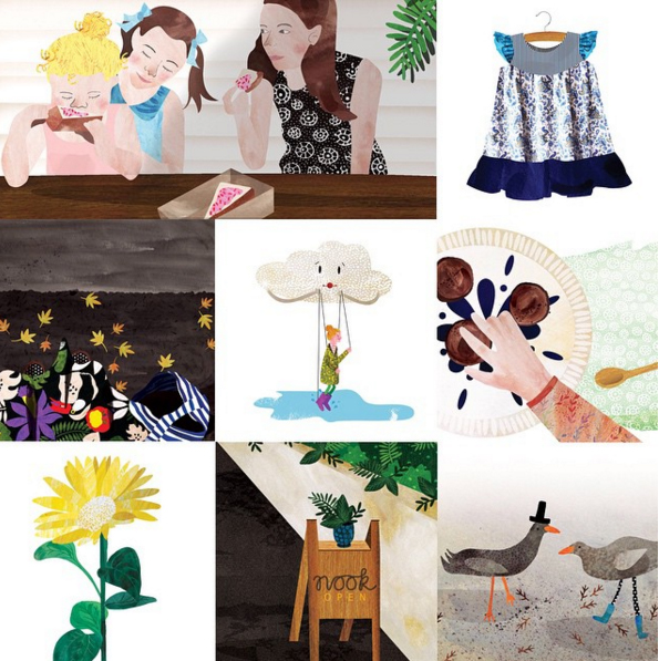 Interview with Alarna Zinn illustrator designer