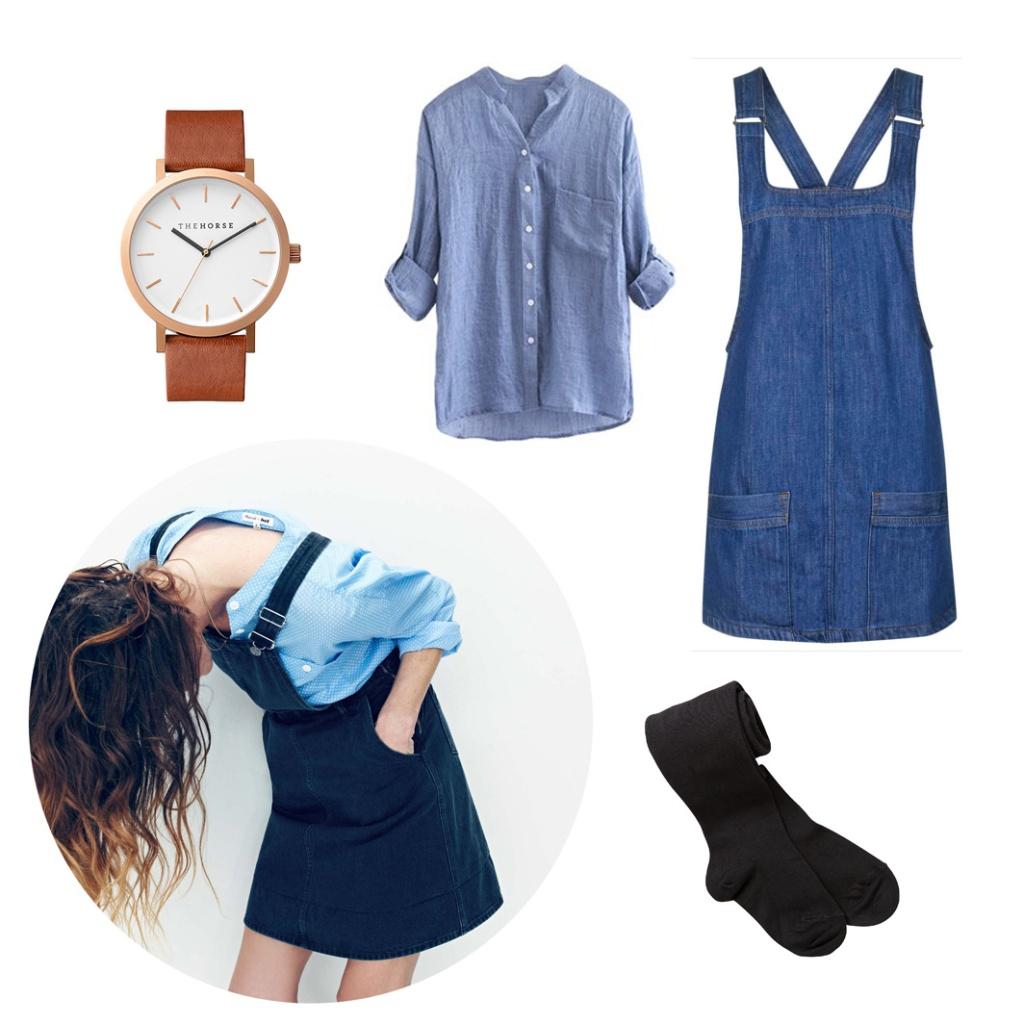 ways to wear denim this autumn