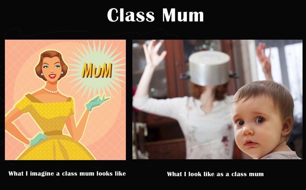 Class Mum Meme