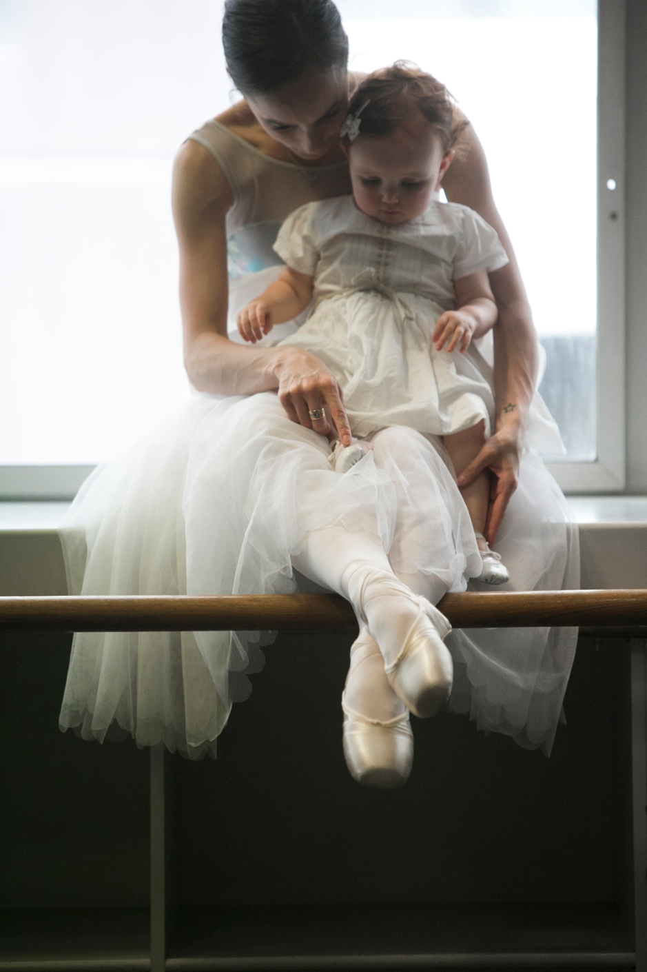 amy harris ballerina and daughter