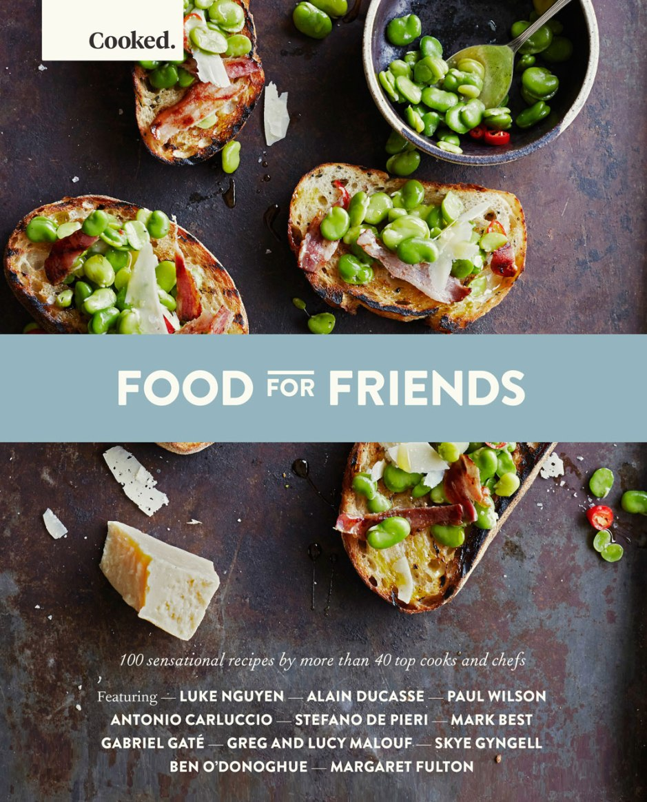 cooked: food for friends recipe book