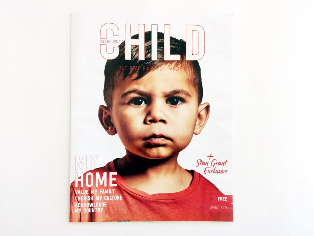April issue of CHILD mags