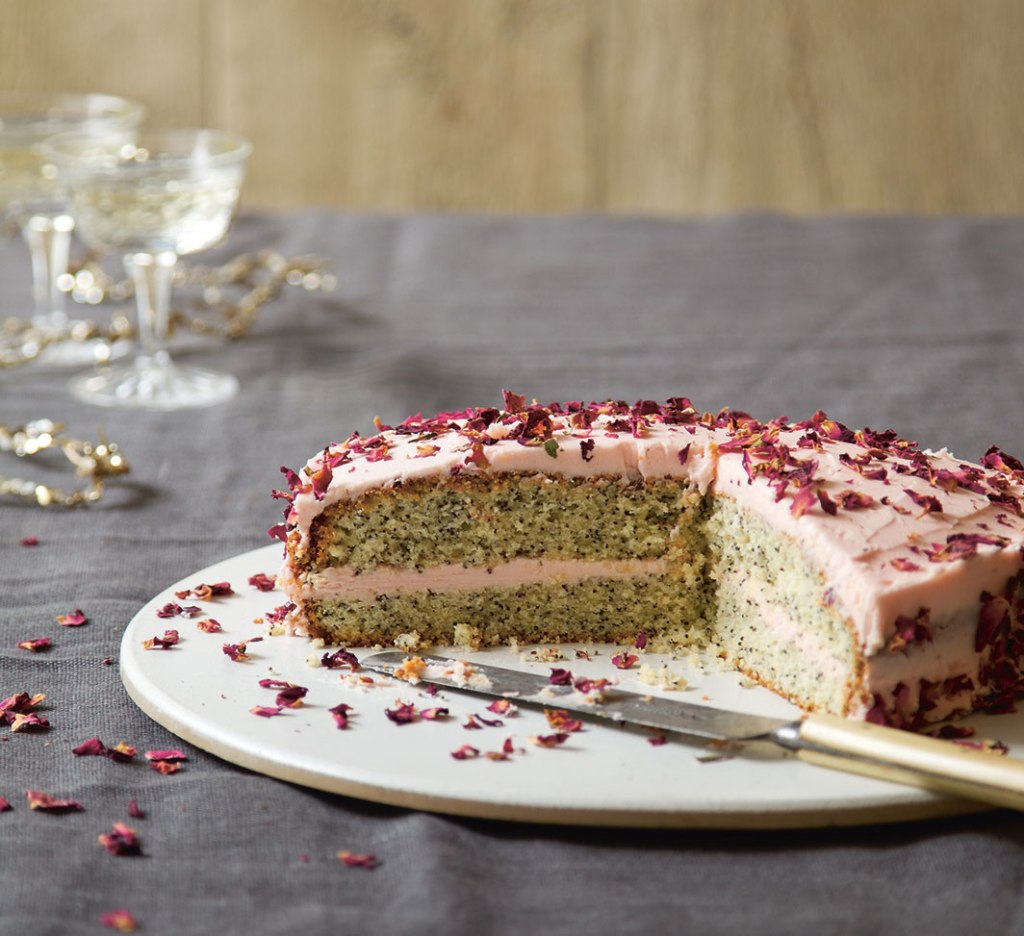 rose and poppy seed cake recipe