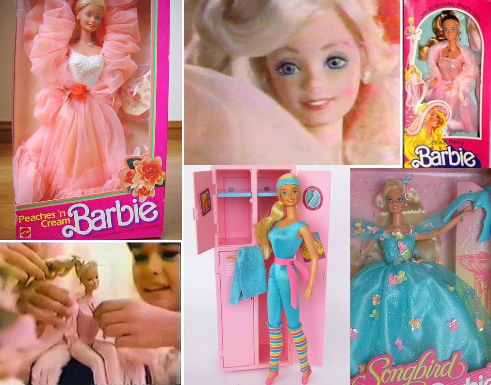 Barbie Badezimmer 90er