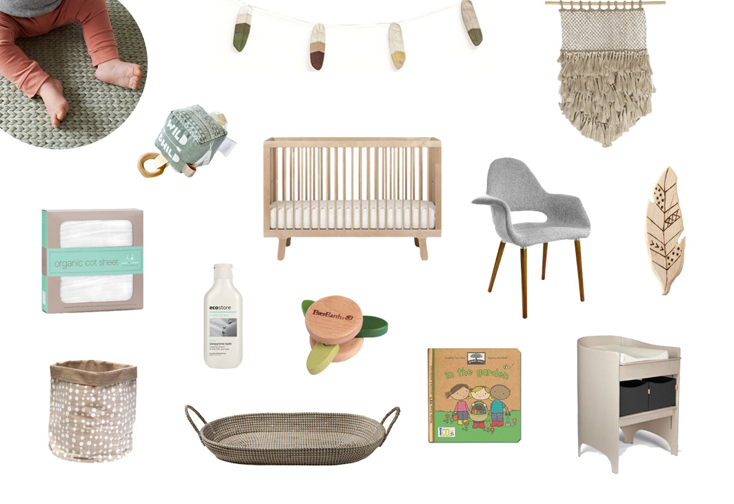 A Eco-Friendly baby Nursery