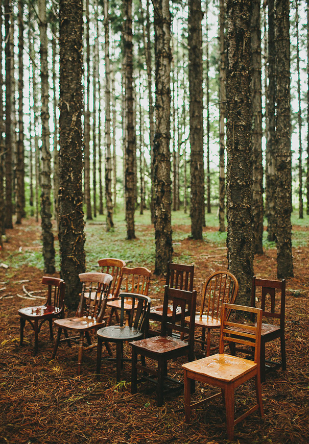 style your woodland wedding