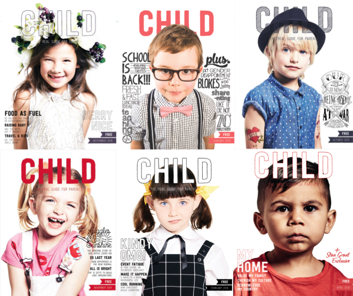 CHILD mags Covers