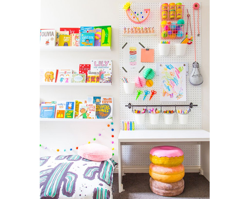 kids craft storage ideas how to make a craft corner child 4812