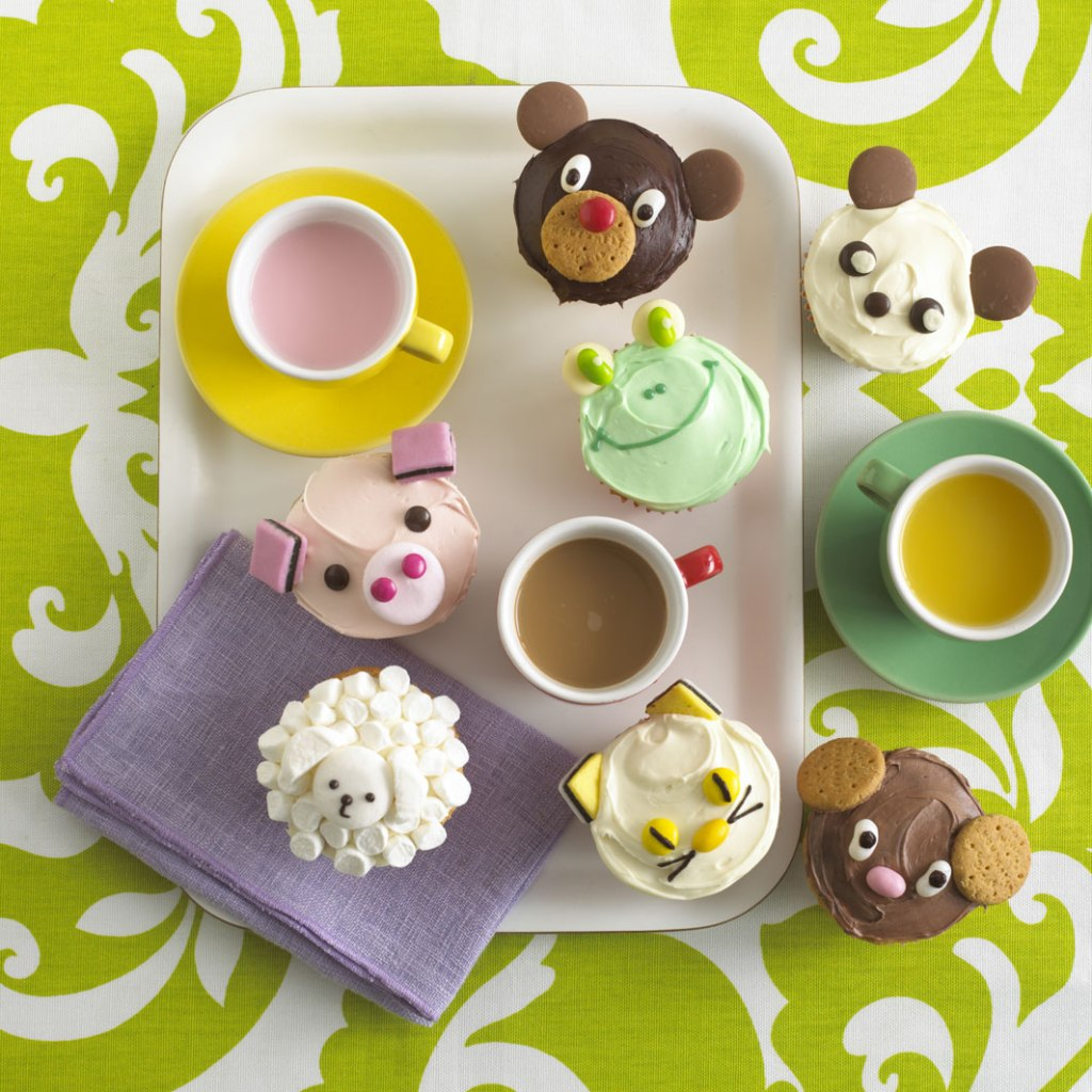 Animal Cupcakes on child mags blog