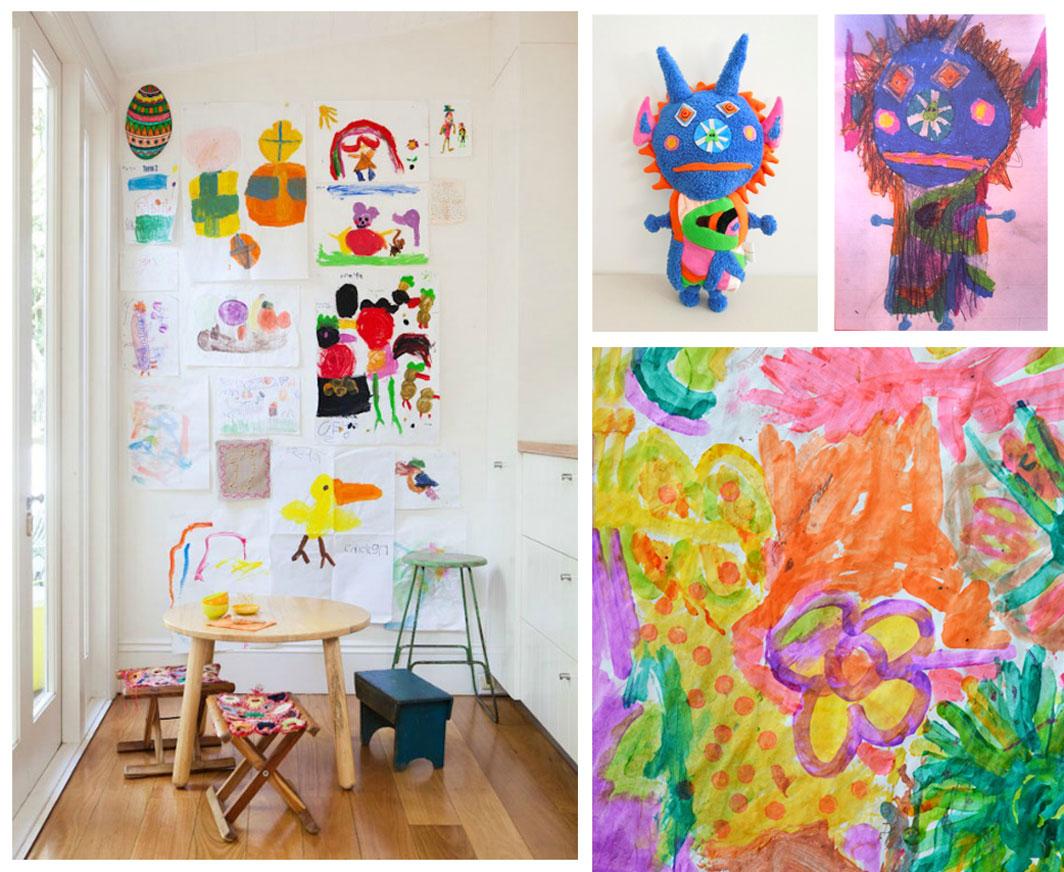 9 Alternate Uses For Kids Artwork Child