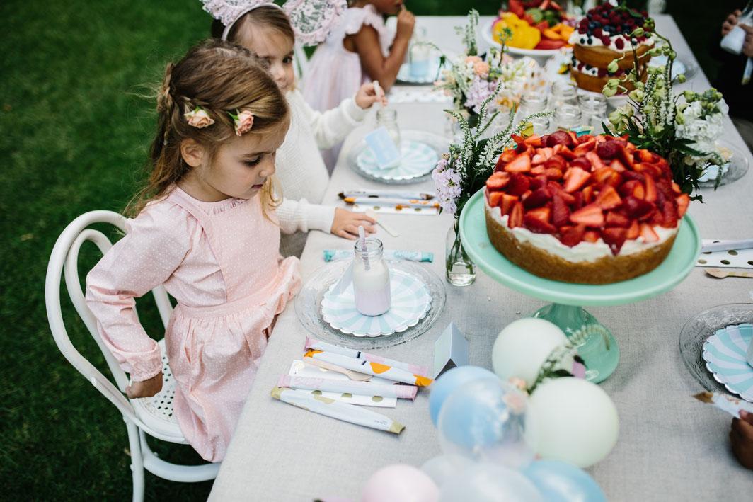kids garden party soirée