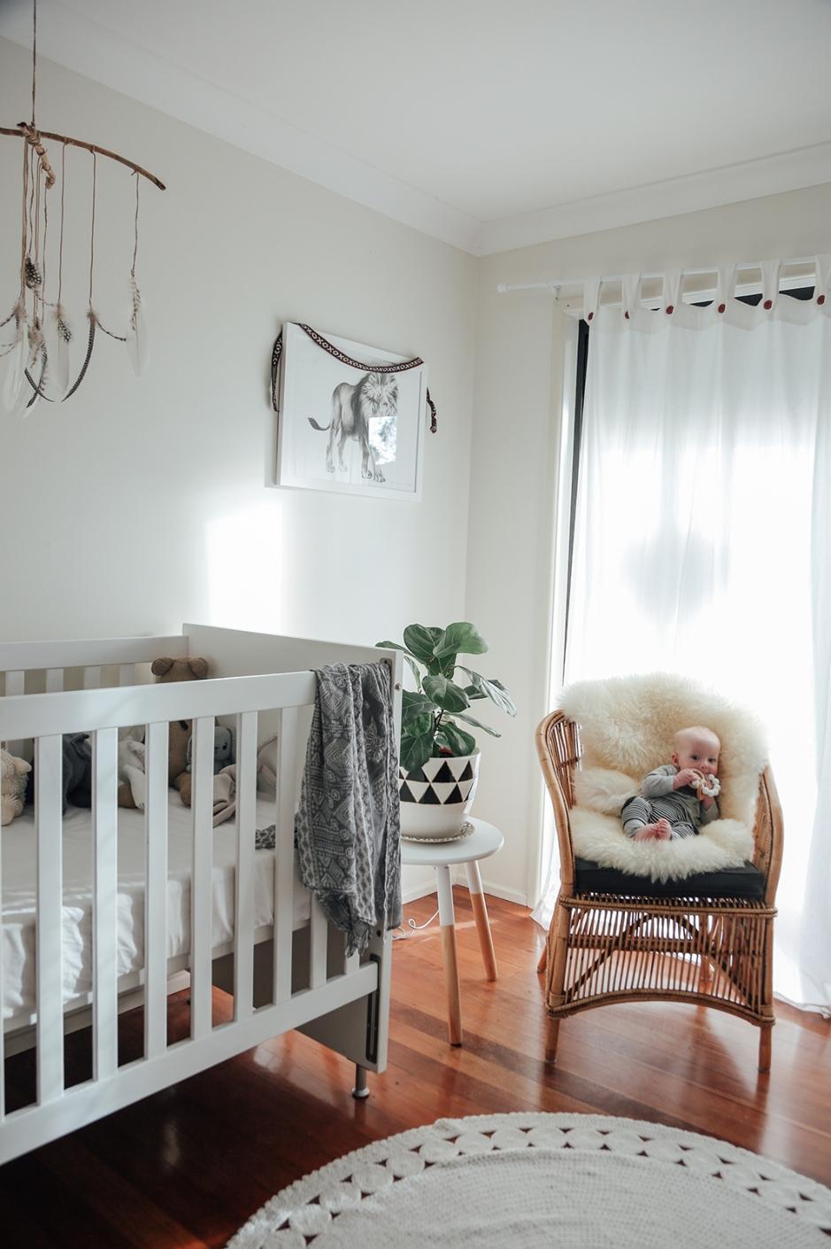 baby zion's calming nursery