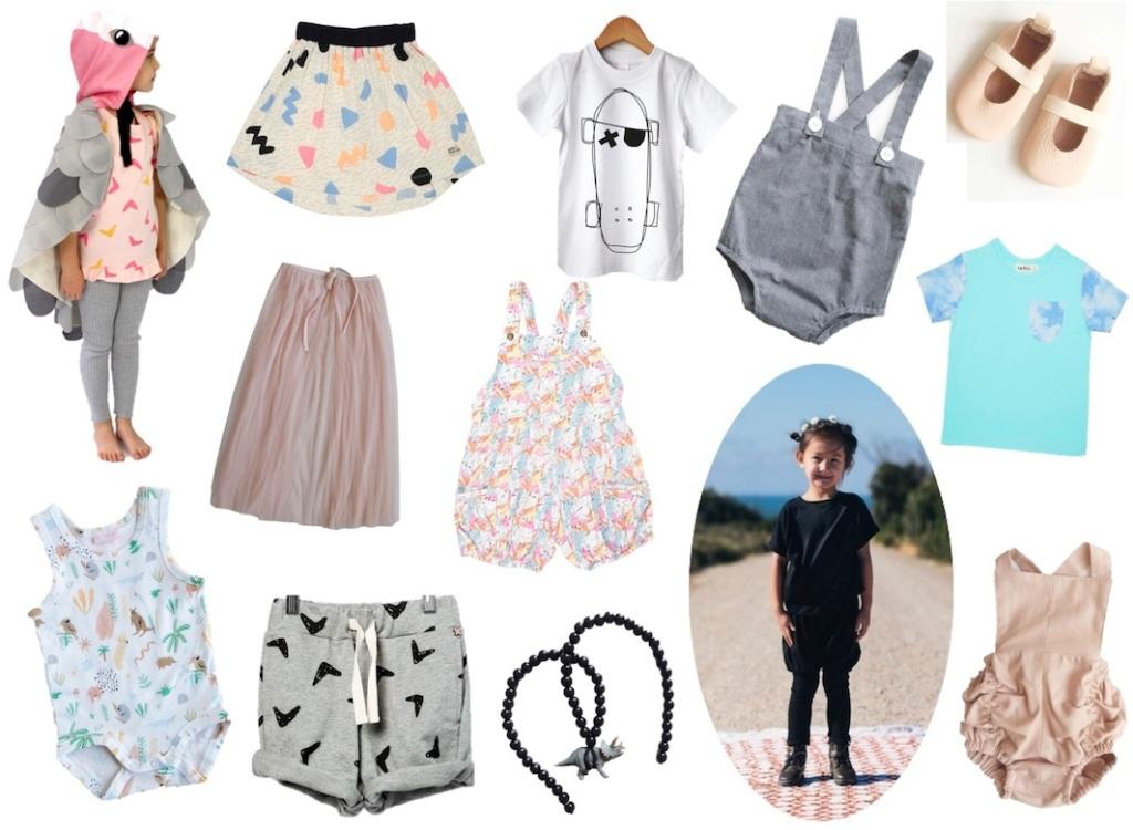 australian childrens fashion, aussie