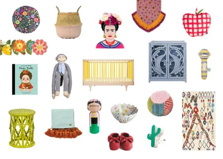 frida kahlo nursery on child mags blog