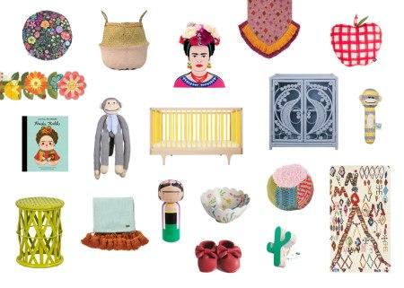 frida kahlo nursery on child mags blog