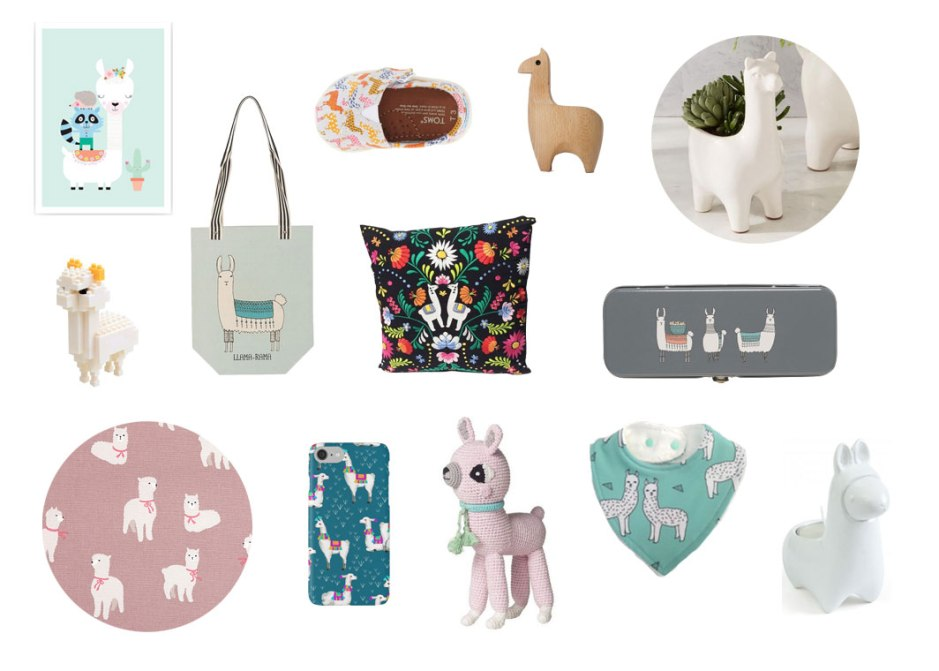 we love….llama's on child mags blog