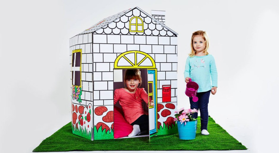 A cubby house you can colour in?! on child mags blog