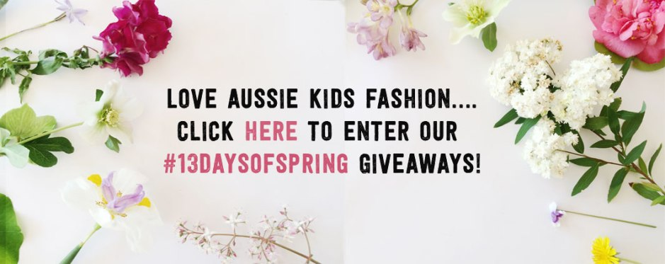 #13daysofspring on child mags blog