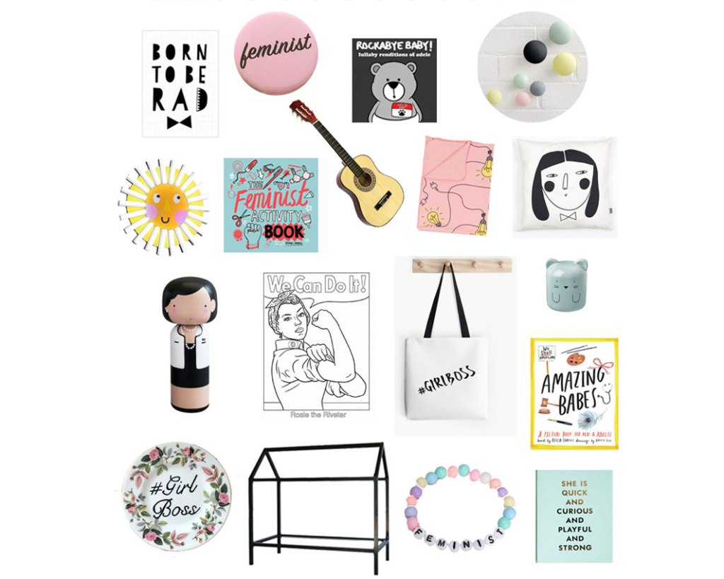 mini feminist kids room on child mags blog