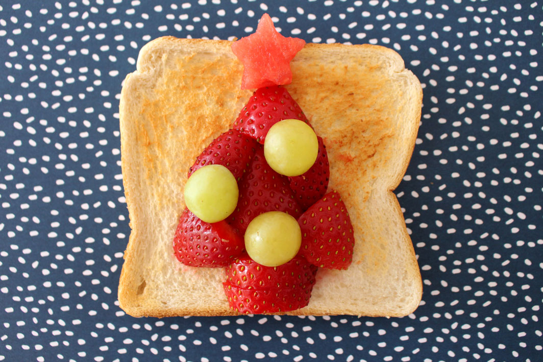 Christmas Toast Art o child mags blog