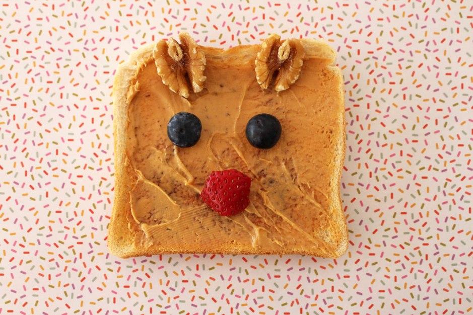 Christmas Toast Art o child mags blog