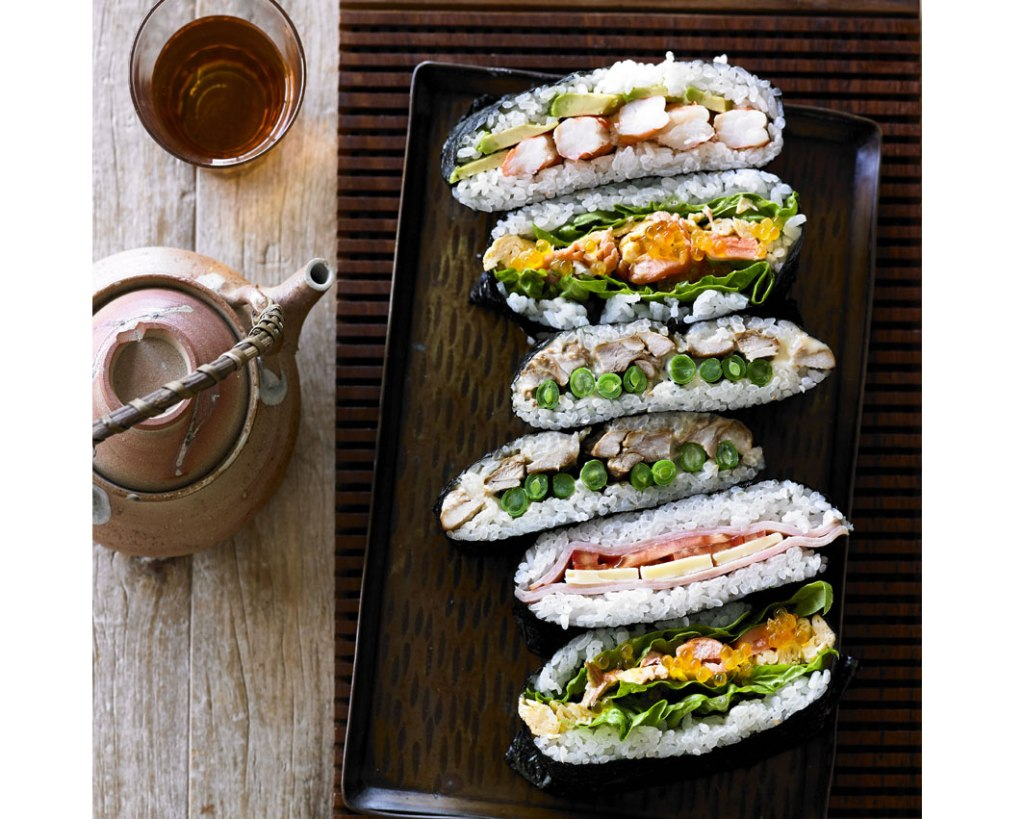 Sushi Sandwich Recipe on child mags blog