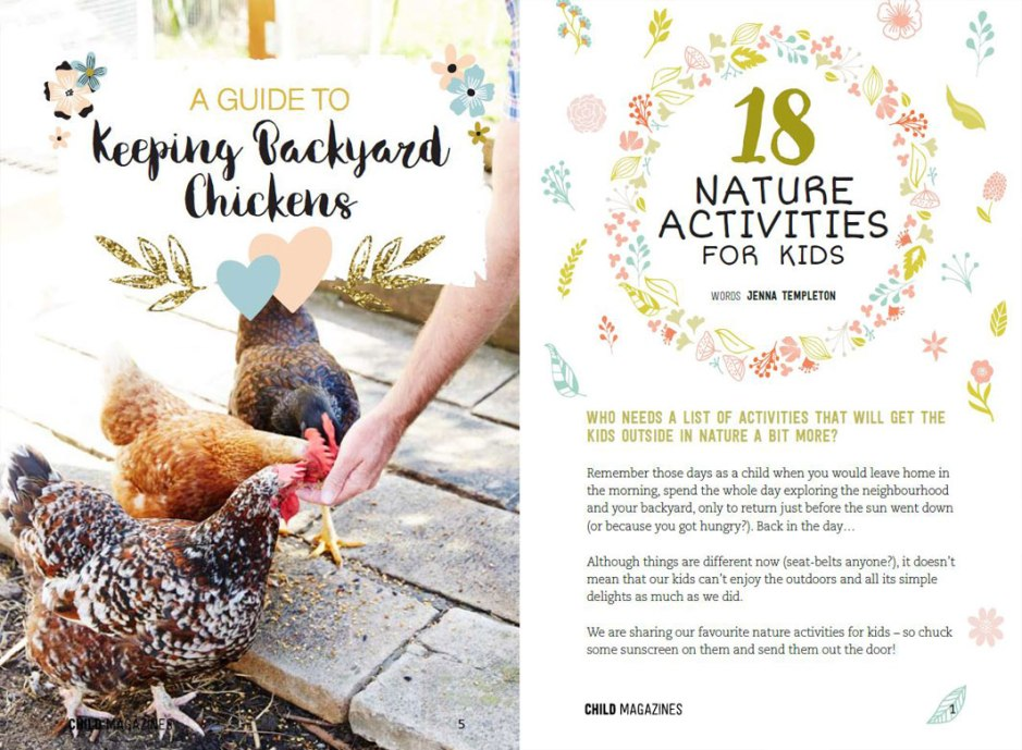 Download our free kids nature mini mag