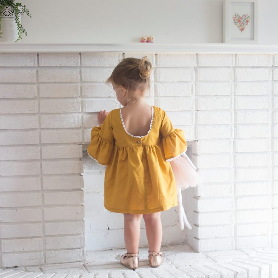 mustard children's clothing
