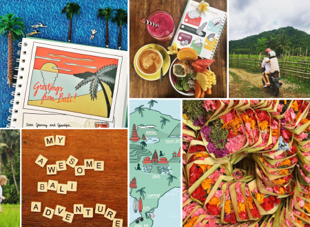 motherhood + creativity: inspiring kids to learn and seek on holidays on child mags blog