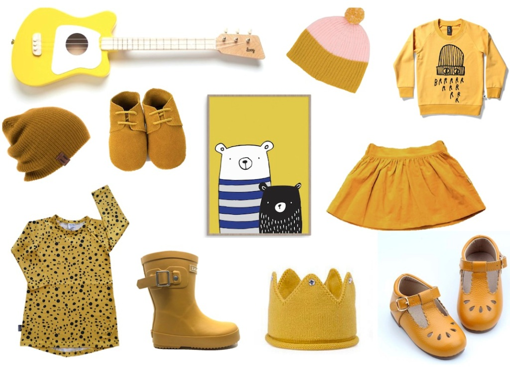 We love mustard - kids clothing with CHILD Mags blog