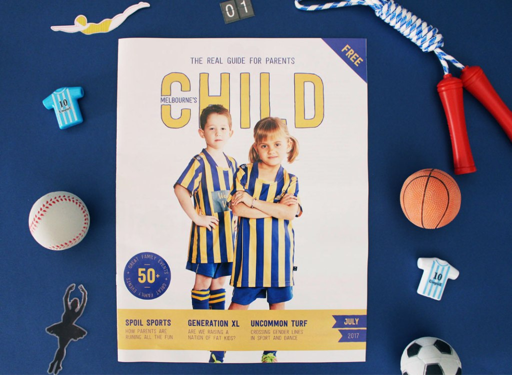 July Issue Of Child Magazines